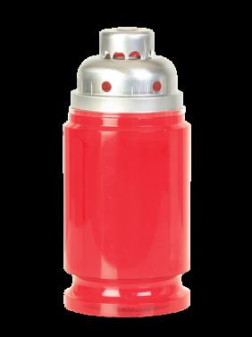 dolgogoreča sveča PAX nova mala rdeča