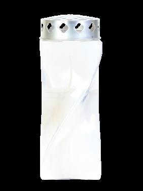 Sveča Apolon prozorna