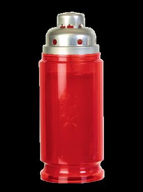 dolgogoreča sveča PAX velika nova rdeča