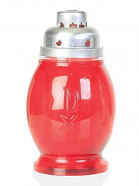 dolgogoreča sveča PAX mala rdeča