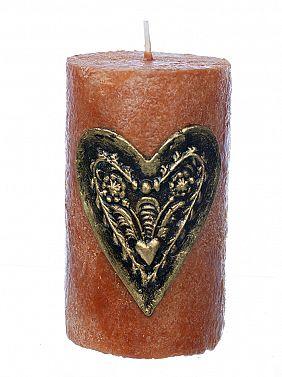 Plečnikova sveča mala rdeča