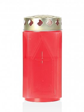 sveča Kocka velika rdeča