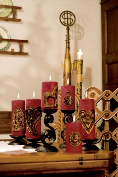 Slika Plečnikove sveče