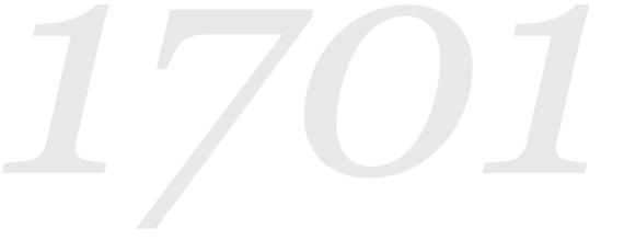 Letnica 1701