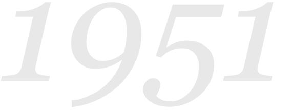 Letnica 1951