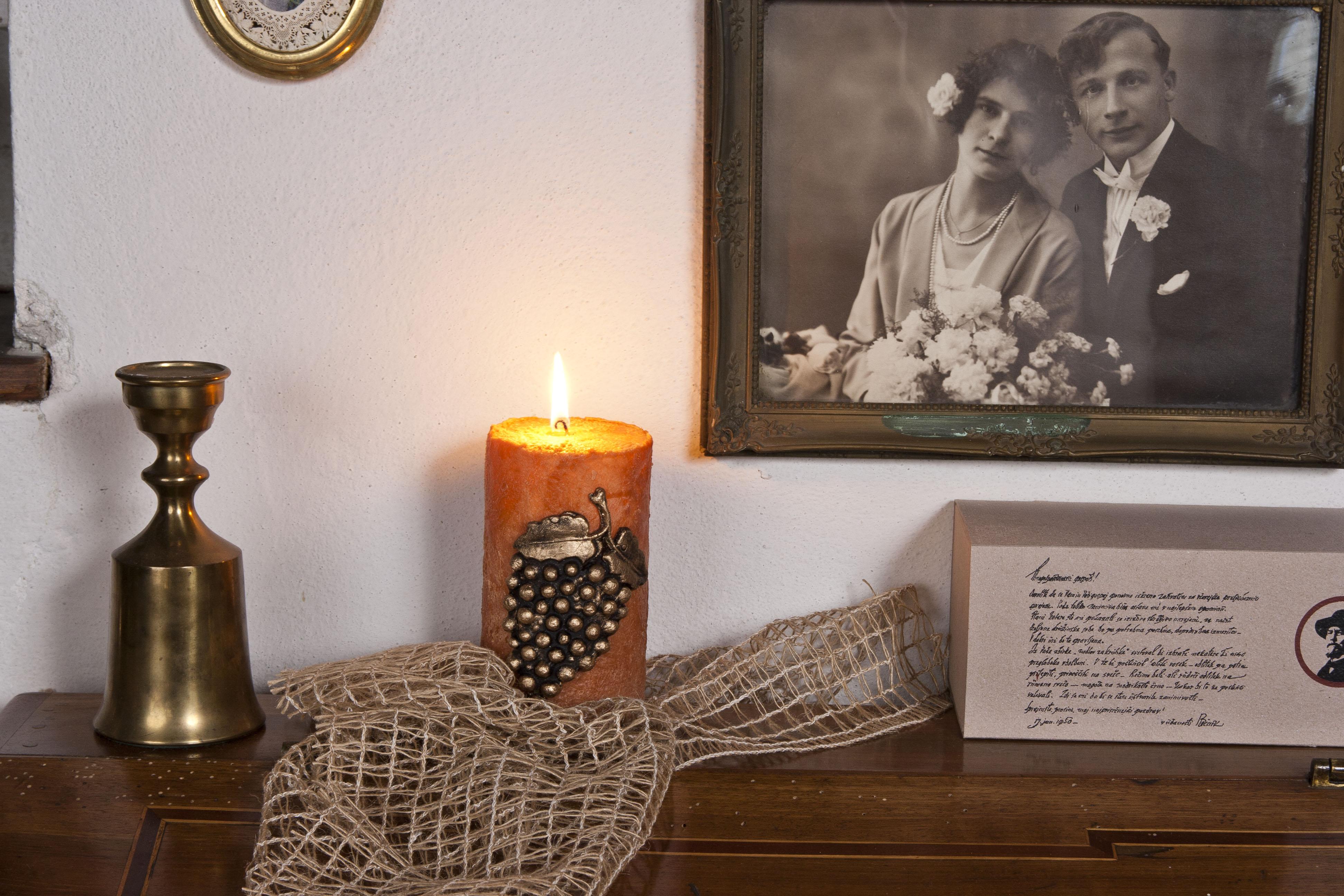 Plečnikova sveča spominska soba