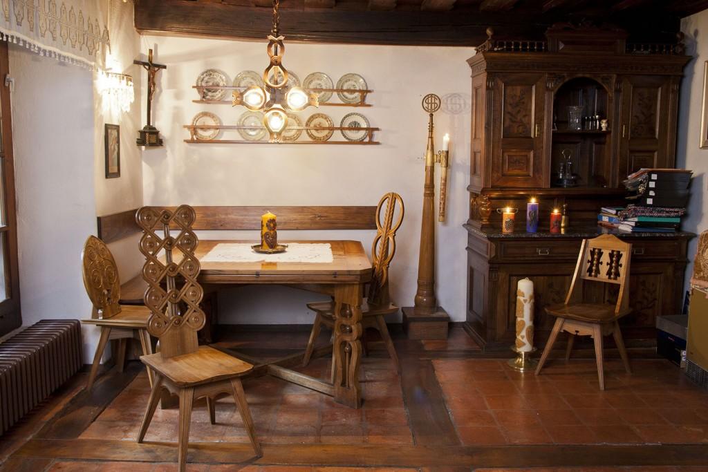 Spominska soba Lectarjeva hiša Plečnik