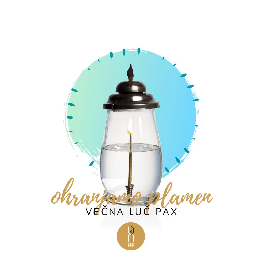 Sveča Večna Luč PAX(1)